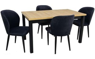 ?????????? стол 80x140 4 стульями в стиле чердак