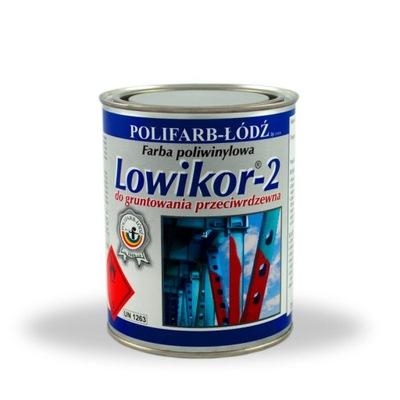 Lowikor-2 farby primer ČERVENÝ OXID primer 10 L