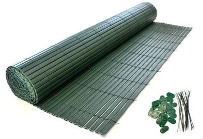 OBOJSTRANNÉ PVC BALKONOWA 1 x 3M, zelená