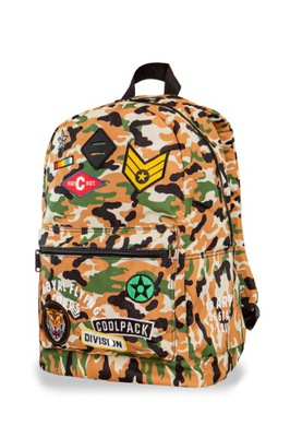 90a58d492e2 Plecak CoolPack Cross Badges Black 89876CP nr A423 7446508086 ...