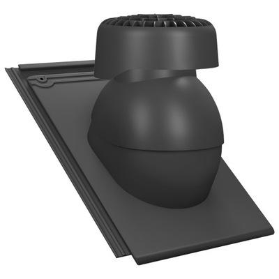 Kanalizácie, ventilačné potrubia na Braas Turmalin
