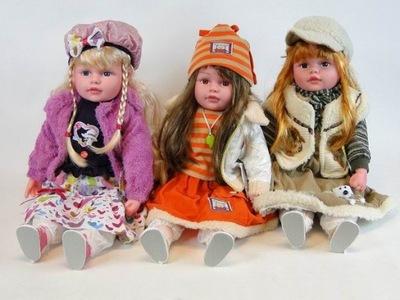 VEĽKÁ bábika-BABY hovorí, SPIEVA, darček AKO živý 60 cm