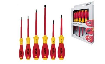 WIHA комплект отверток для электрика, бл/pH 00833