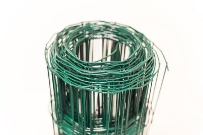 Drôtené pletivo plot, pozinkované + PVC zelená, 20m, h1.2m