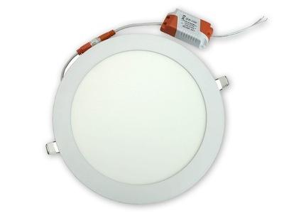 панель LED 18W круглый 22 см DOWNLIGHT ??? скрытого монтажа