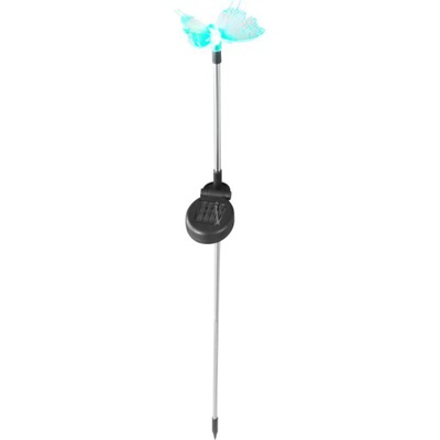 Solárne svetlo - Globo Lampa ogrodowa Motyl LED RGB 33943 Solar