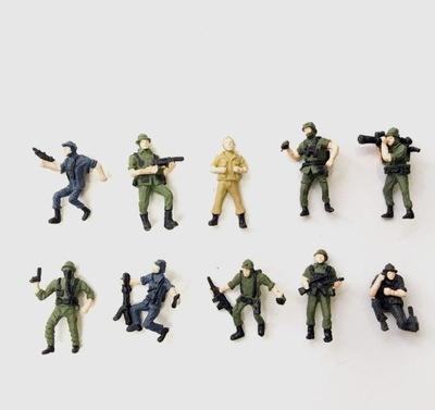 Фигурки на макет H0 1 :87 солдаты