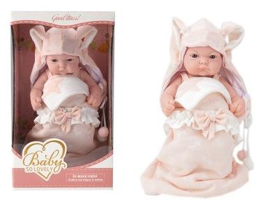 Bábiku Baby baby 25 cm potešenie obálky śpioszki