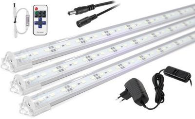 Lampa, luster, svietidlo -  Oświetlenie LED podszafkowe listwa PILOT 3x20cm