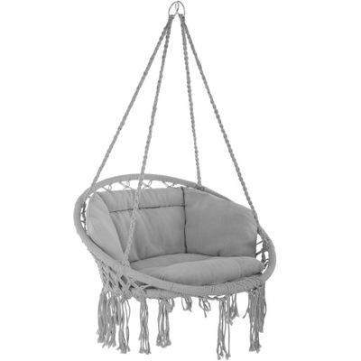 Кресло висящий Grazia Серый гамак качели 403204