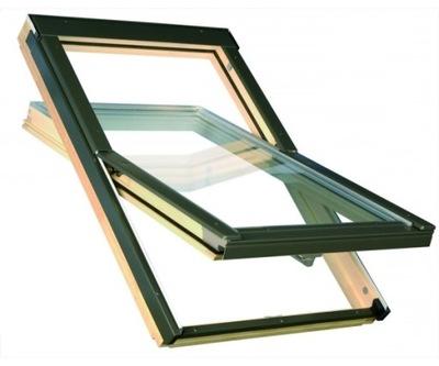 Окно-окна крыши OptiLight B 78x98 см