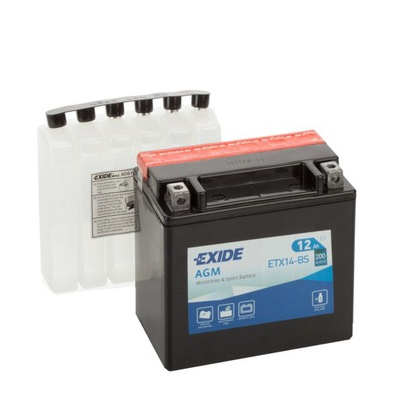 Аккумулятор Exide YTX14-BS BMW R1200GS R 1200 GS