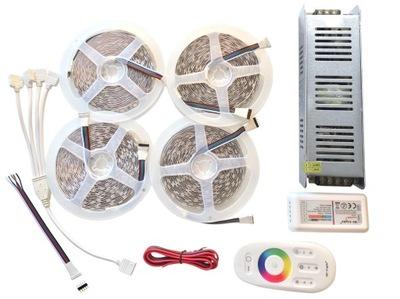 NASTAVENIE Pásky 1200 LED 20m RGBW teplá Biela SLIM