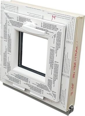 WINDOWS KacprzaK OKNO PVC 40X45 NOVÉ PROF 6 KOMÔR PVC