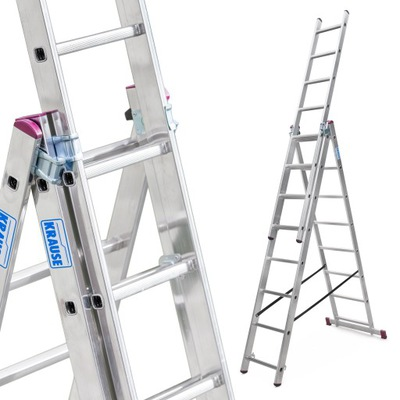 Лестница алюминиевая 3x8 Краузе CORDA выс. роб. 5 ,4м