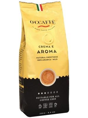кофе в зернах OCCAFFE Crema E Aroma 250g Арабика