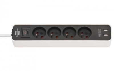 BRENNENSTUHL PREDLŽOVACÍ kábel na dobu neurčitú Ecolor s USB