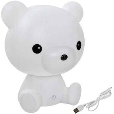 лампа Ночная для Детей МИШКА Медвежонок 25см 3 Режимы LED