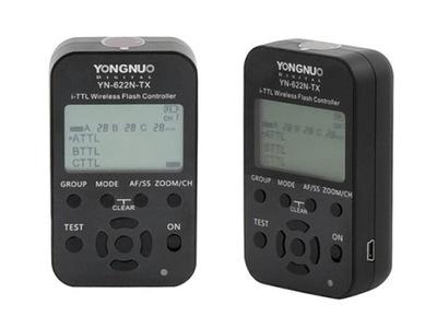 Radiowy wyzwalacz Yongnuo YN-622C-TX LCD ETTL