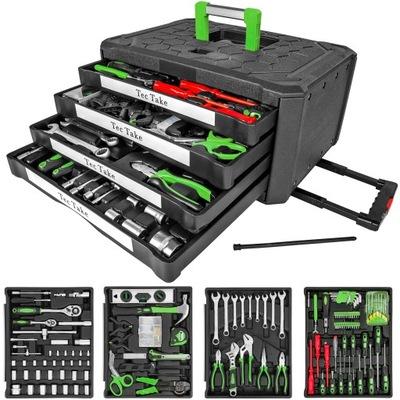 комплект комплект Инструментов, ключей Чемодан 401487