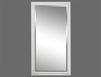белое протертые зеркало вырезанной раме