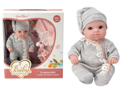 Bábika-Dieťa dieťa malé 18 cm bez ramienok nohavičky
