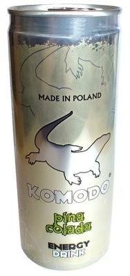 Комодо энергетический Напиток Пина Колада 250 мл энергетик