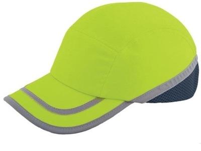 Шлем легкий промышленный светоотражающий салатовый EN812