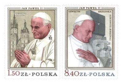 Fi 2482 - 2483 ** Визит Яна Павла II в Польше