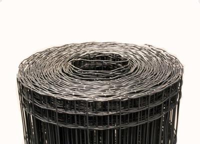 Zvárané pozinkované pletivo + PVC antracit 25 m; h1.2m