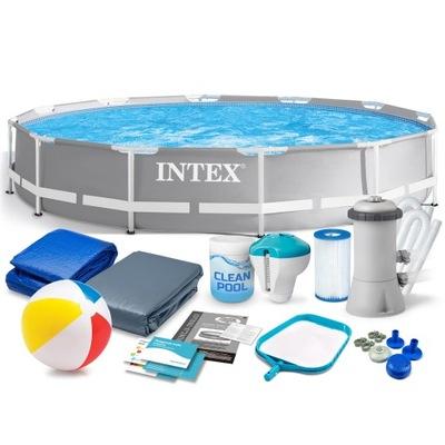Бассейн садовый стоечный INTEX 366x76 26712 16w1