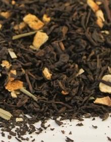 чай красная aromatyzowan PU-ERH ЛИМОННАЯ 1кг