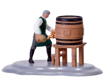 Винодел втыкал кран на бочке, масштаб H0