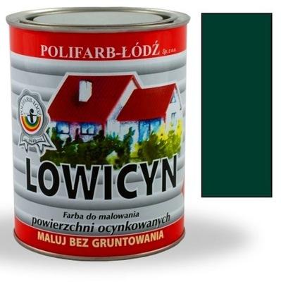 Lowicyn farba zinok zelená, TMAVO zelená RAL6005 MAT 10 L