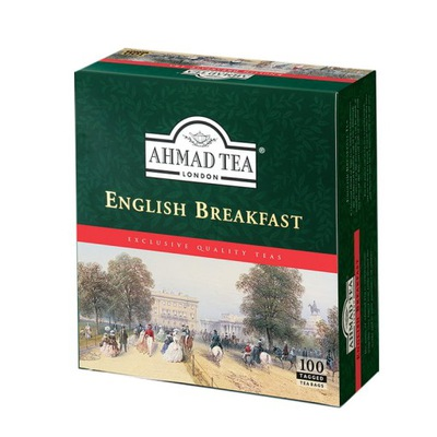 AHMAD English Breakfast 100 сумок