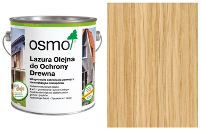 Olejové FARBY Pruská MODRÁ OSMO na terasy 2.5 L bezfarebný