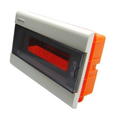Rozvádzače flush-montáž box 1x12 SRp-12