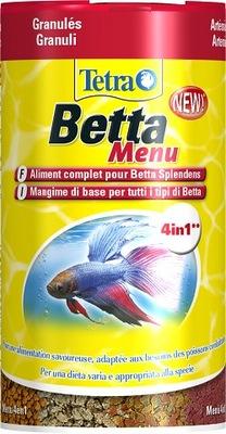 Tetra Betta Menu 100ml 4 POKARMY DLA BOJOWNIKA 4w1