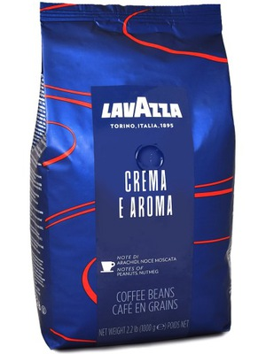 кофе в зернах Lavazza Креме E Aroma Blue 1 кг