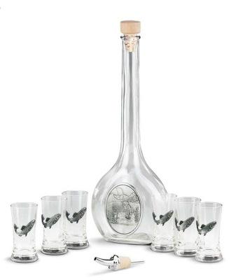 комплект комплект алкоголь подарок 8el РЫБОЛОВ олово