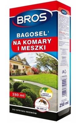 Bros Bagosel 250 мл Опрыскивание от комаров клещей 500м2