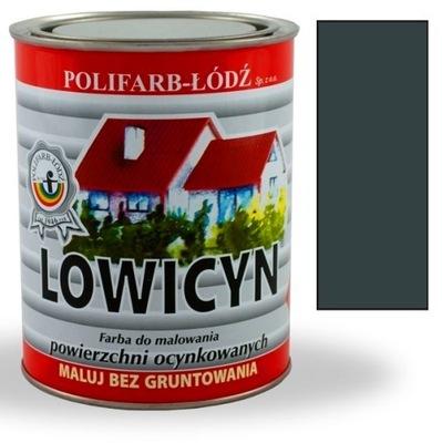 Lowicyn náter na zinok tmavo ŠEDÁ, RAL9005 MATT 5L