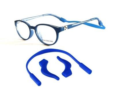 GUMKA do okularów +STOPERY NA ZAUSZNIKI dla Dzieci