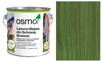 Olejové FARBY Pruská MODRÁ OSMO na terasy 0,75 L zelená