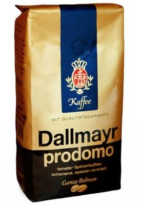 кофе в зернах Dallmayr PRODOMO Ноль ,5 кг