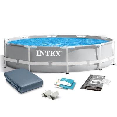 Бассейн садовый стоечный INTEX 305x76cm 26700 6W1