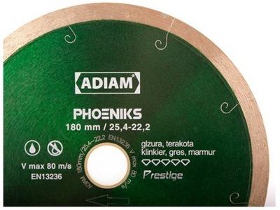 Rezací kotúč - ADIAM PHOENIX 180 mm DIAMOND BLADE PRESTIGE KRK