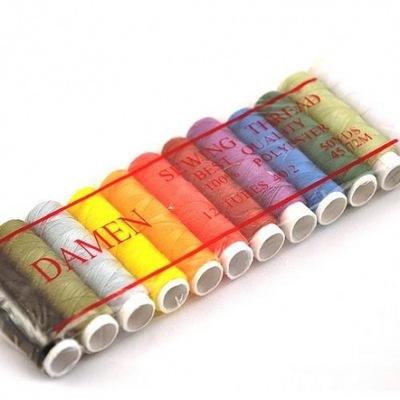 комплект нити DAMEN 12 цвета