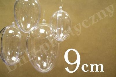 Jajko składe plastikowe akrylowe 9 x 6,2 CM