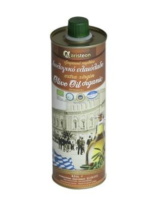 оливковое масло Оливковое масло Греческая био 500 мл Закинф ARISTEON